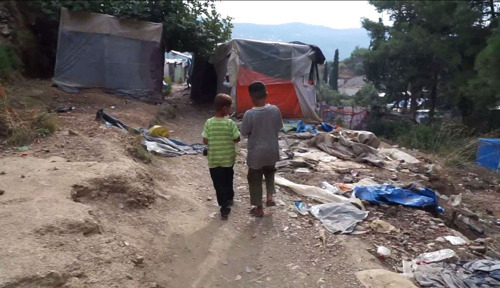 La salud mental de los refugiados en las islas griegas paga el peaje de las terribles condiciones de los campos