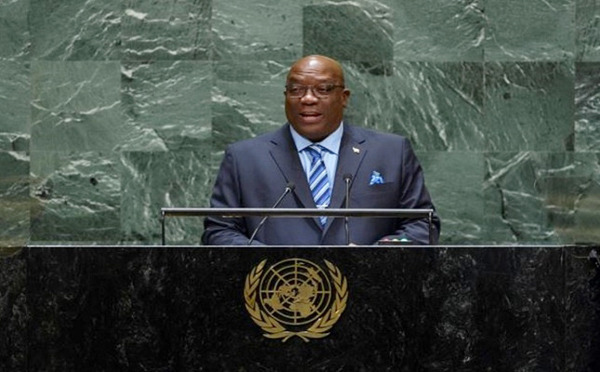 Preview: Address by Prime Minister of St. Kitts and Nevis, Dr. the Hon. Timothy Harris at the general debate of the 74th Session of the General Assembly of the UN