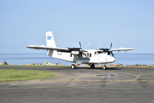 Arrival of UN Secretary-General to Dominica