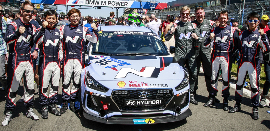 Mission accomplished – both Hyundai i30 N models completed the Nürburgring 24-hours race