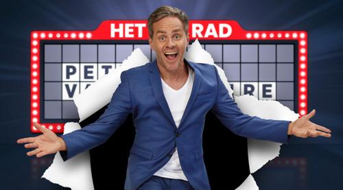 """""""Ik ga het zeggen, Peter"""": Peter Van de Veire presenteert deze zomer het dagelijkse, onvoorspelbare VIER-programma Het Rad"""
