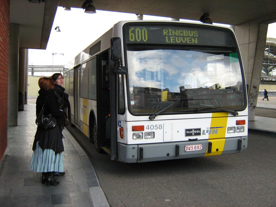 De Leuvense Ringbus, een van de meer mobiele lijnen.