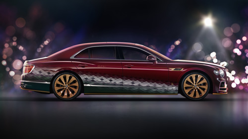 """BENTLEY SLEIGHS THE COMPETITION WITH """"THE REINDEER EIGHT"""""""