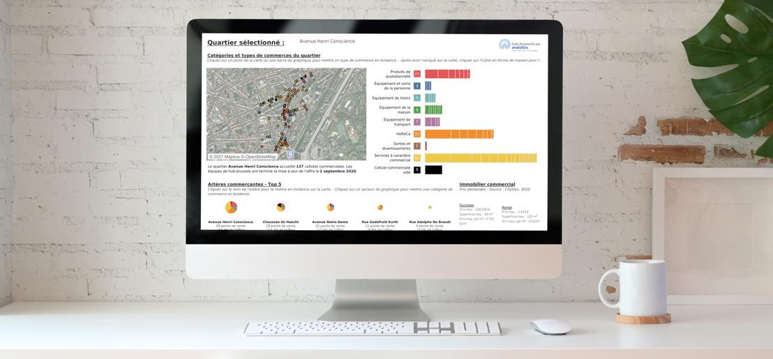 Databank met economische gegevens van hub.brussels toegankelijk voor grote publiek