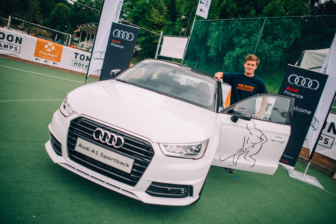 Hockeyheld Tom Boon verlengt partnership met Audi en Audi Finance