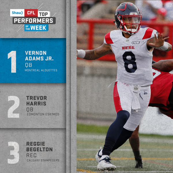 Preview: SHAW CFL TOP PERFORMERS – WEEK 10