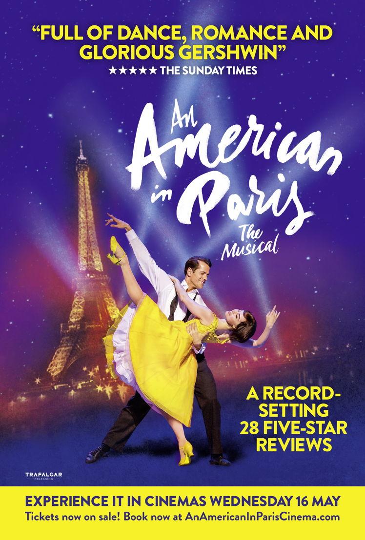 An American in Paris - One Sheet