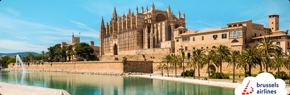 Brussels Airlines vliegt volgende zomer naar populaire Balearenbestemming Palma de Mallorca