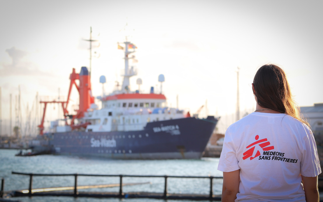 Sea-Watch and MSF announce collaboration to save lives at sea