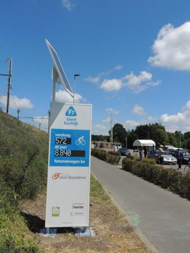 Aantal fietsers op Oost-Vlaamse fietssnelwegen sterk toegenomen tijdens lockdown