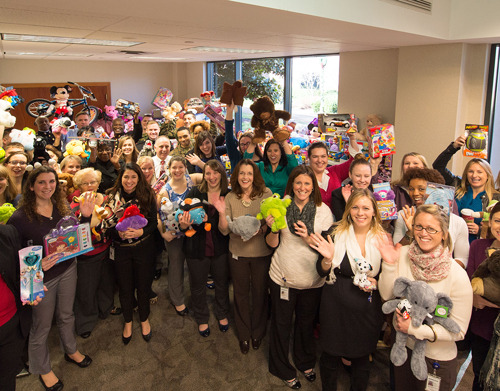 Move over Santa, Ferguson associates are spreading joy this year