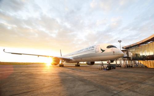 Erste Airbus A350-1000 kommt nach Hong Kong