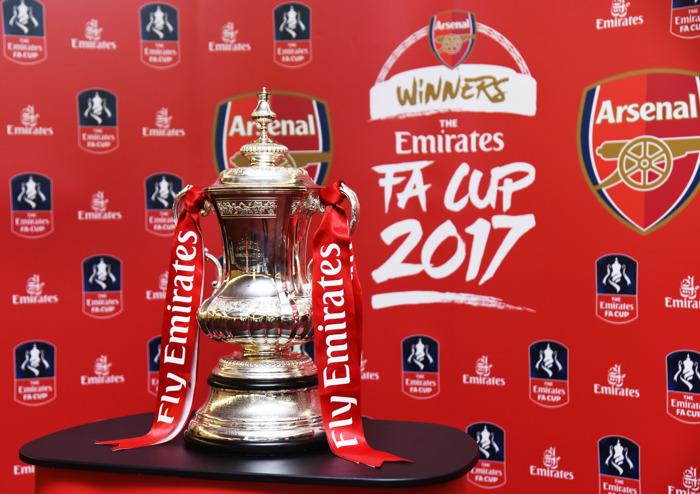 Arsenal brings the Emirates FA Cup to Dubai
