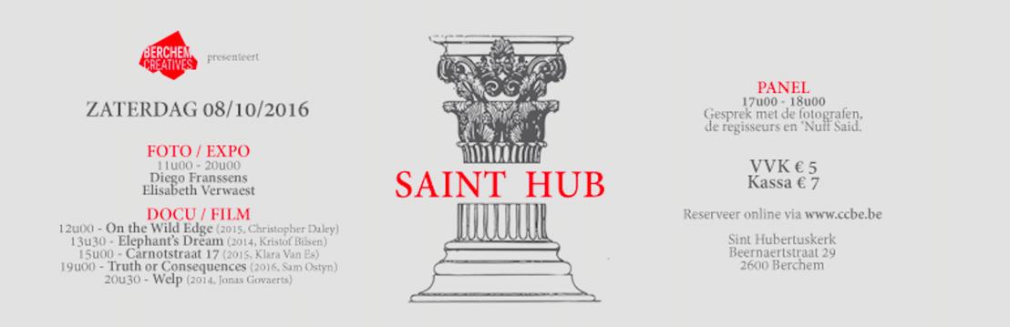 SAINT HUB -  foto's/docu's/film/expo met o.a. Jan Eelen, Diego Franssens, Klara Van Es, Sam Ostyn