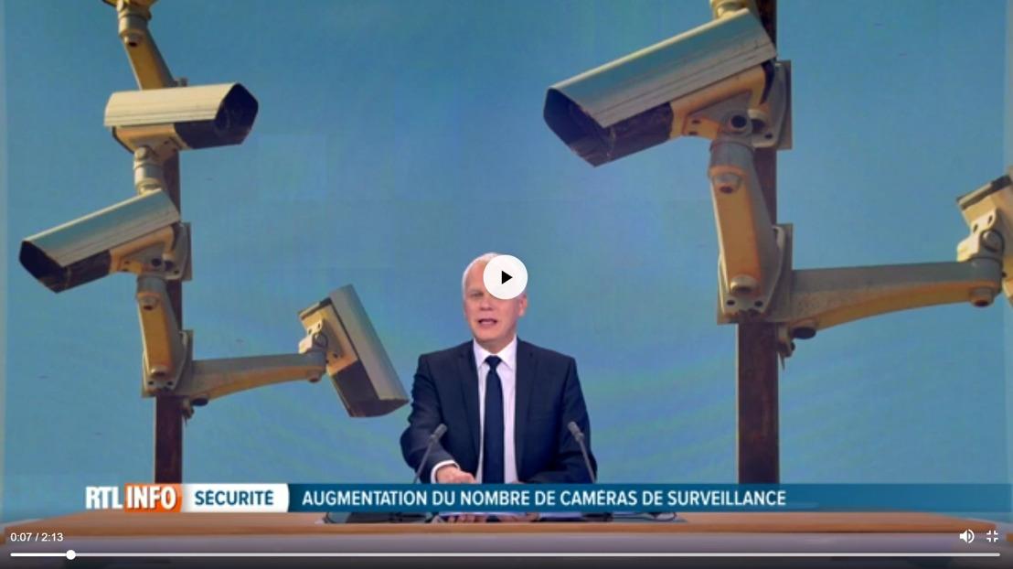 Une caméra de surveillance: qui visionne ces images? (RTL Info)