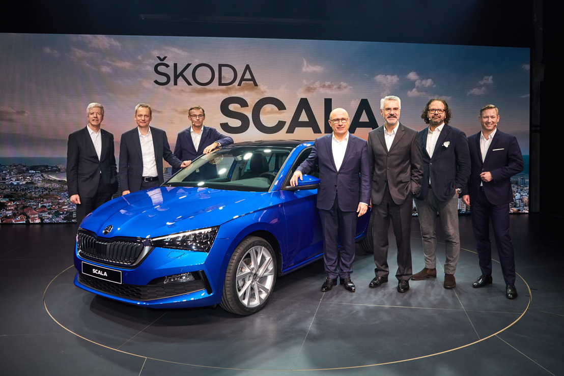 The ŠKODA SCALA world premiere in Tel Aviv in pictures