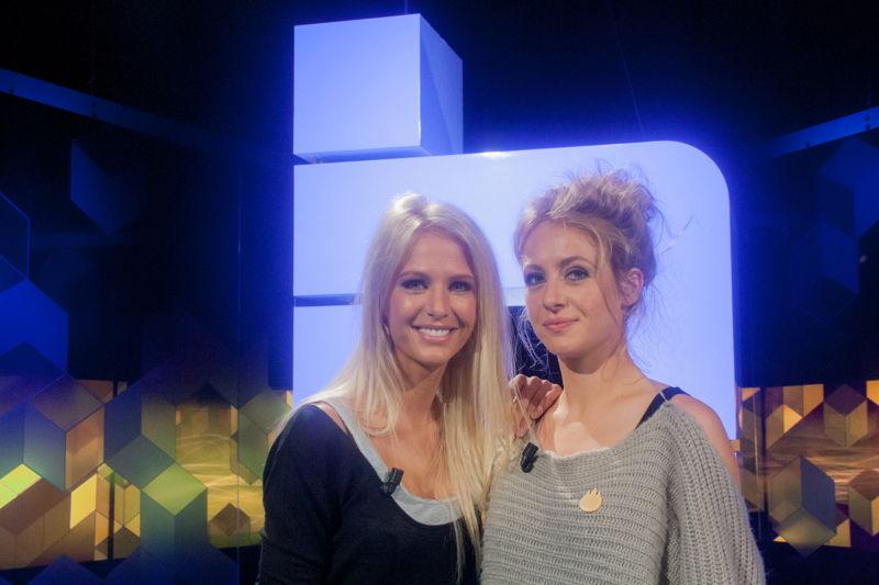 Blokken for life Annelien Coorevits vs. haar zus Stephanie Coorevits<br/>(c) VRT