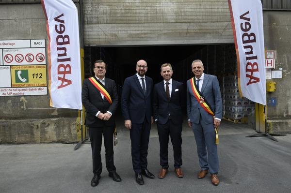 Preview: De eerste bierboot van AB InBev haalt 5000 vrachtwagens van de Belgische wegen in 2019