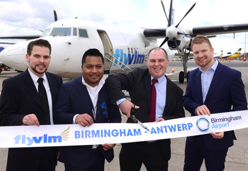 VLM Airlines reopens the route Antwerp-Birmingham