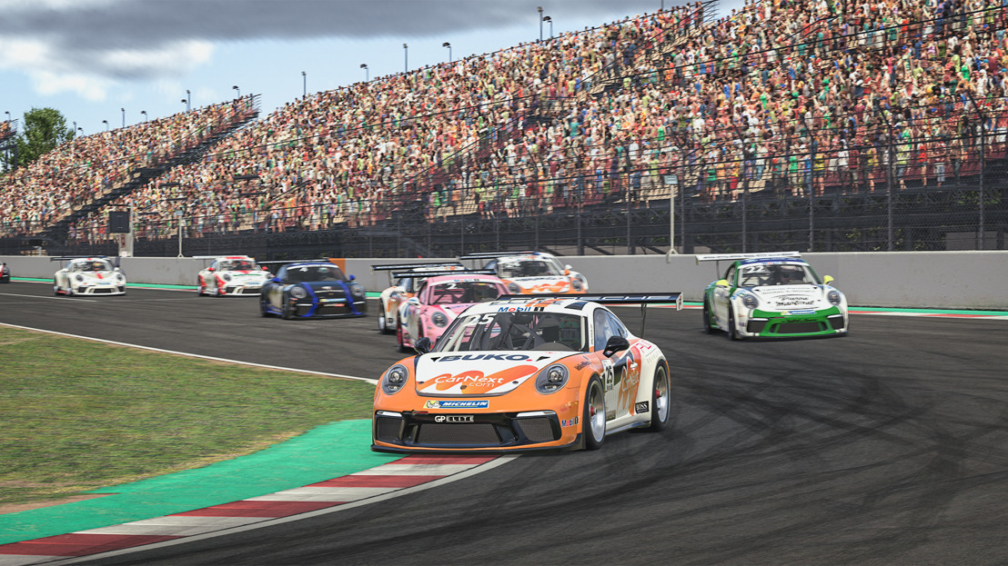 Porsche Mobil 1 Supercup Virtual Edition, Races 1 + 2, Barcelona, Spain