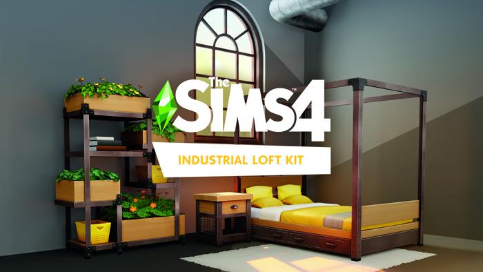Le kit Les Sims 4 Loft Industriel sera disponible le 26 août