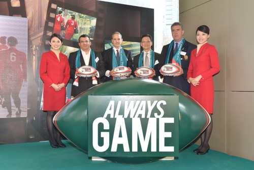 Cathay Pacific launches 'Always Game' Campaign for 2013 Hong Kong Sevens