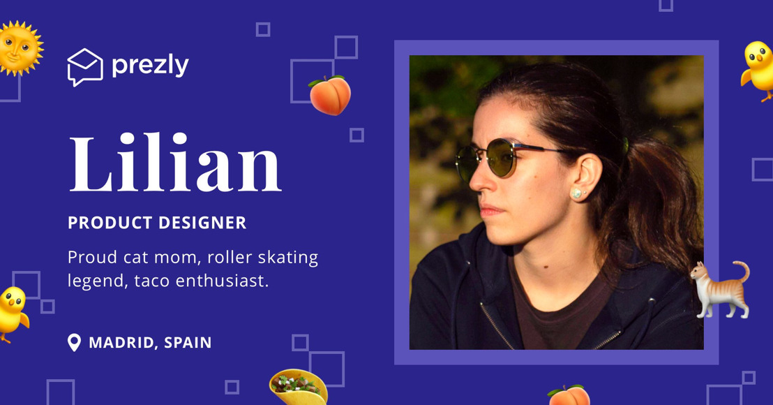The Prezly Team: Lilian