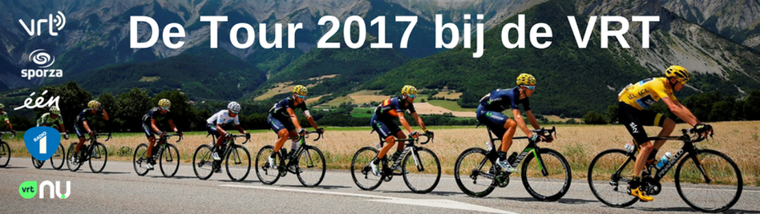 De Tour 2017 bij de VRT
