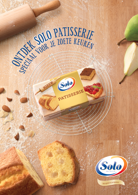 'SOLO patisserie' for Unilever Europe - Brand Building