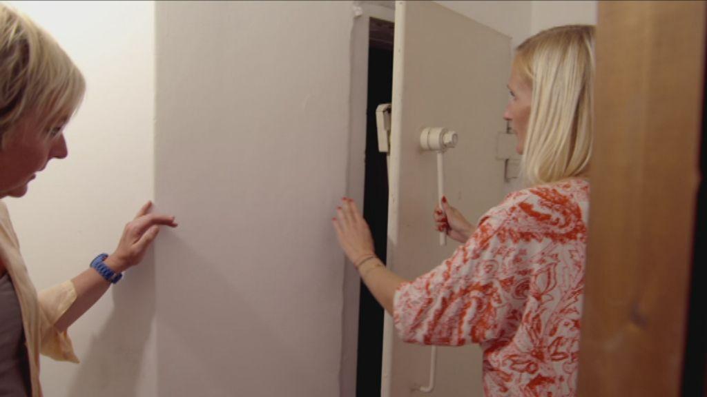 Nardy toont Annemie de schuilkelder