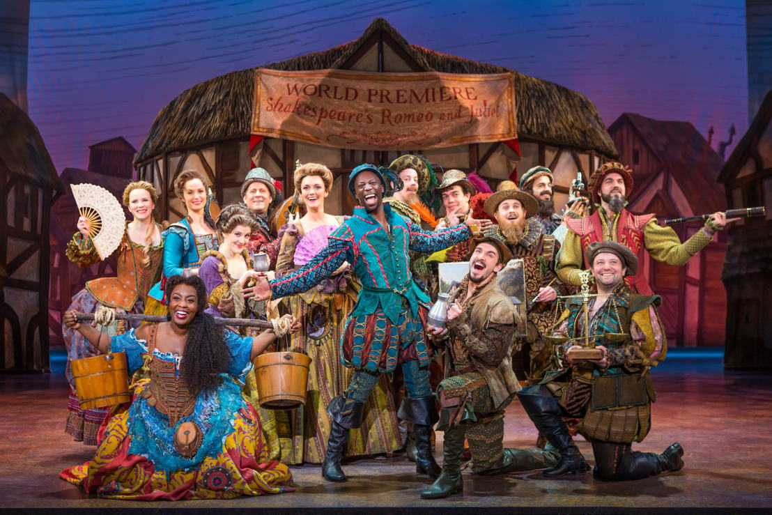 Cast of the Something Rotten! National Tour. © Jeremy Daniel