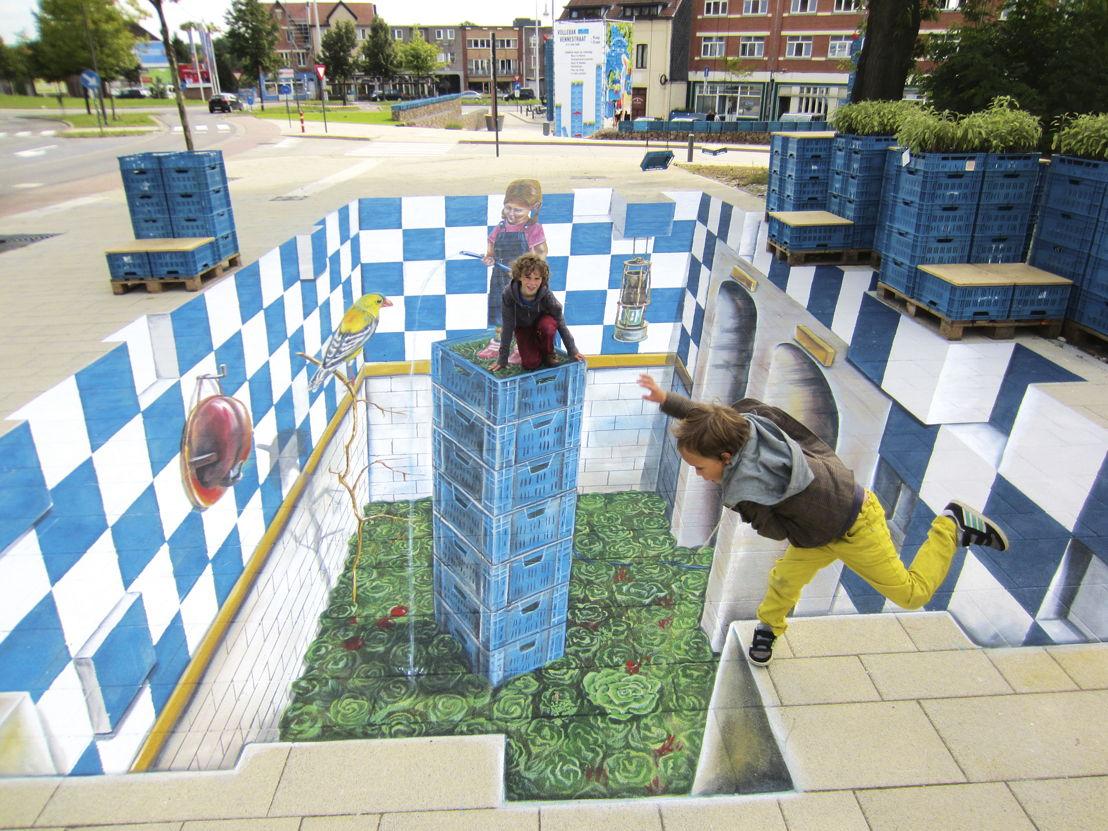 Henry van de Velde Award Communication Nominee_Vollebak Vennestraat_muurschildering_LABOvzw voor Stad Genk_copyright Leon Van Keer