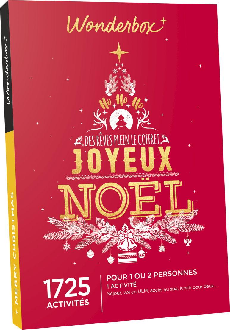 Coffret Wonderbox Joyeux Noël: 49,90€