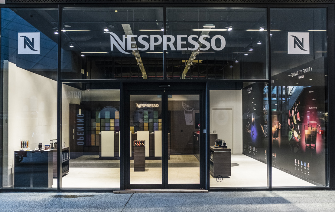 Nespresso ouvre une boutique Pop-Up à Docks Bruxsel