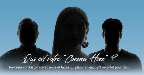 Brussels Airlines souhaite remercier les héros de cette pandémie