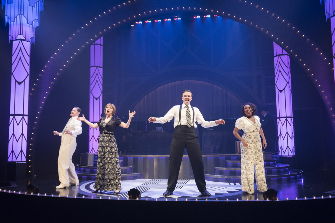 John Ullyatt, Lauren Bowler, Andrew MacDonald-Smith, and Katrina Reynolds in Puttin' on the Ritz - The Music and Lyrics of Irving Berlin (2016) / Photos by Emily Cooper