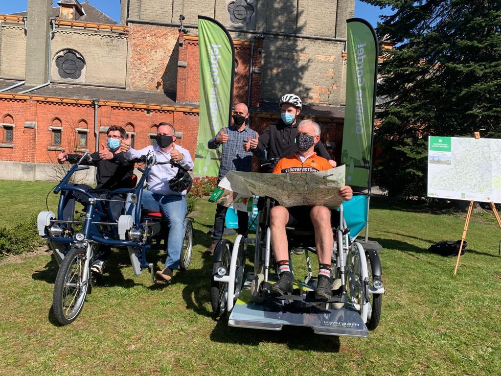 Vlaams-Brabant heeft een nieuwe toeristische fietskaart. En bijkomende duofietsen voor mensen met een handicap