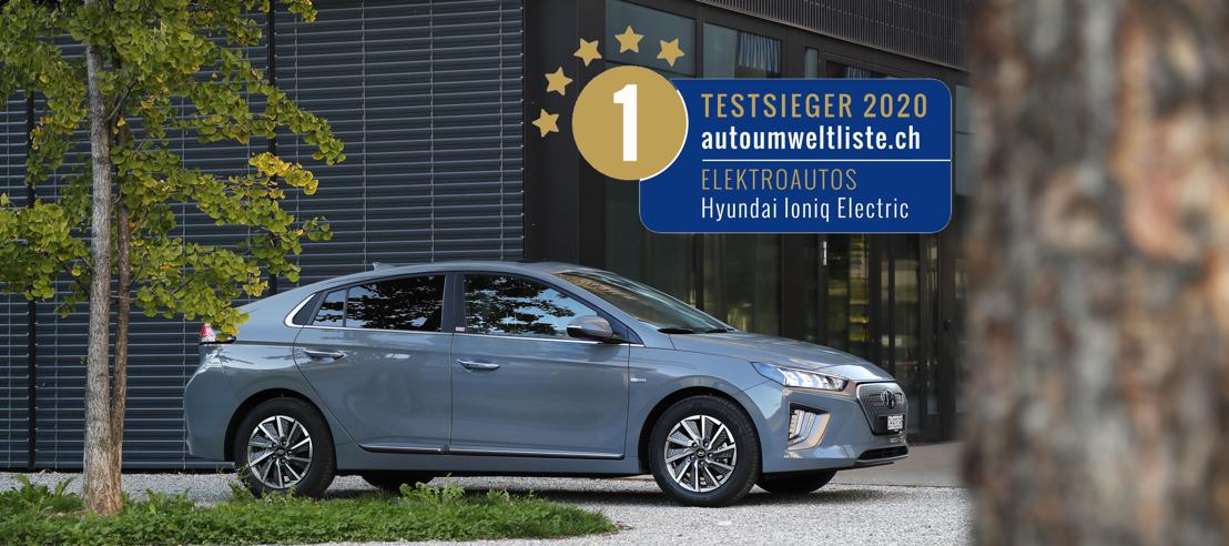 New Hyundai IONIQ electric als bestes Elektroauto bewertet