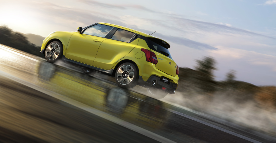 Présentation en première mondiale de la Suzuki Swift Sport au salon de l'automobile de Francfort