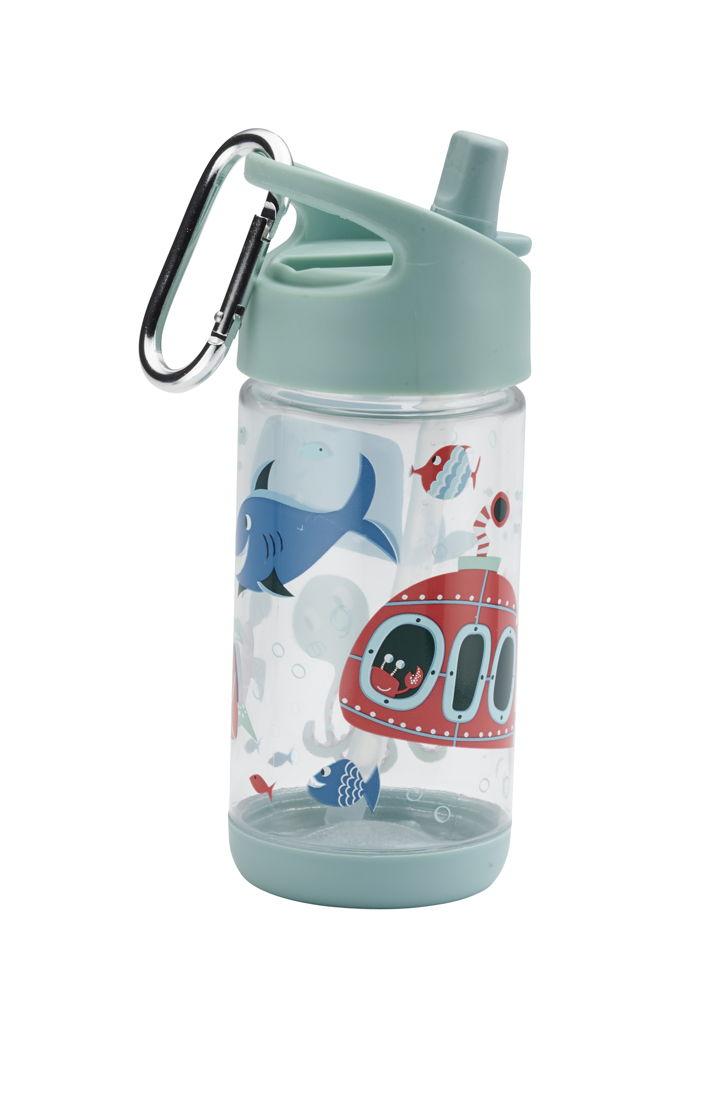 SugarBooger handige flip & sip tritan drinkfles Ocean - €15,95