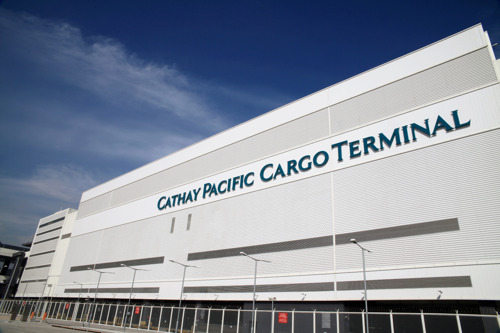 Lufthansa Cargo and Cathay Pacific Cargo  now under one roof for  Hong Kong ground handling