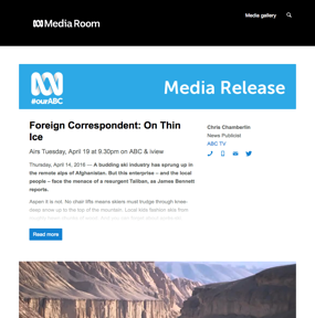 Foreign Correspondent: On Thin Ice