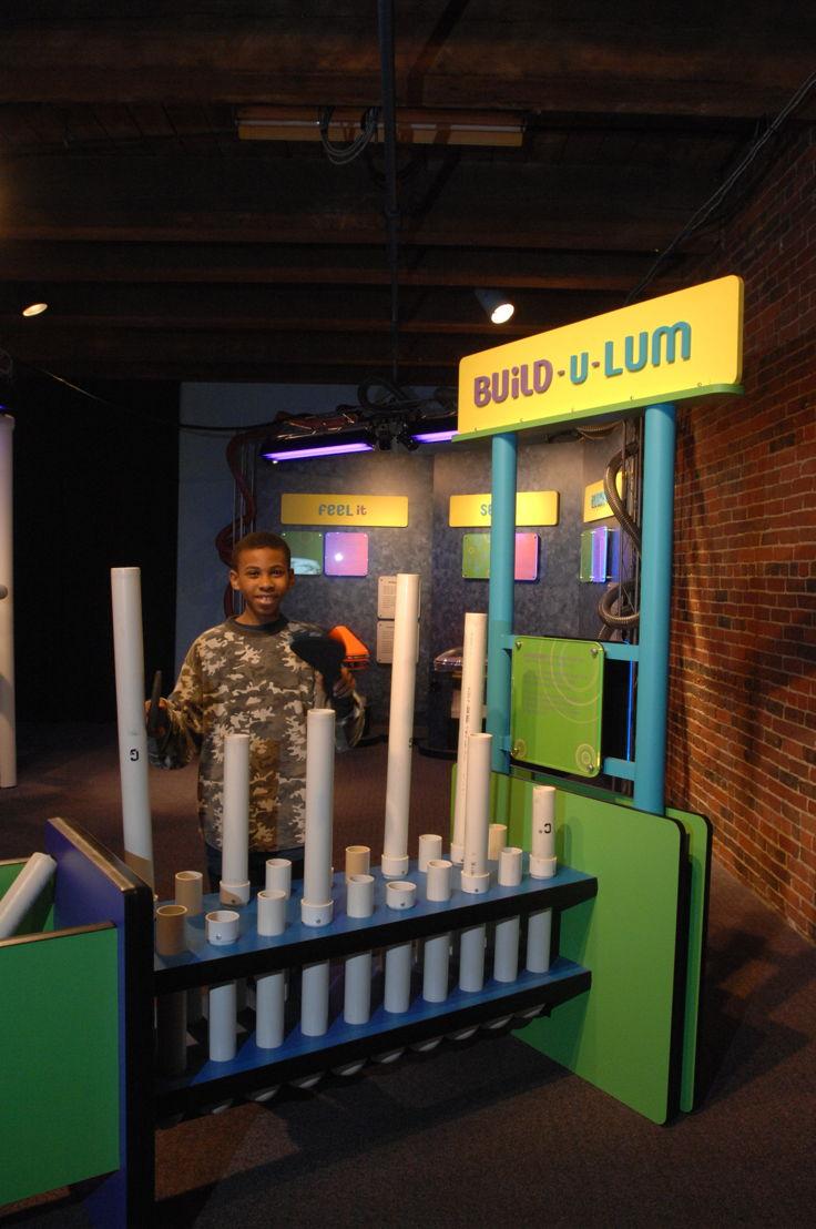 Build-u-lum (Photo Credit: Boston Children's Museum)