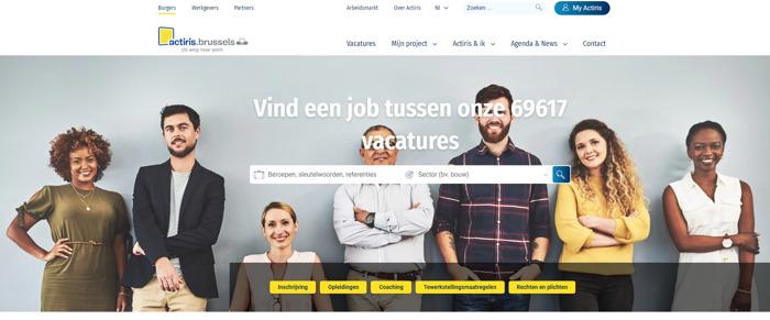 Preview: Actiris lanceert nieuwe digitale tools om werkzoekenden en werkgevers dichter bij elkaar te brengen in crisistijden