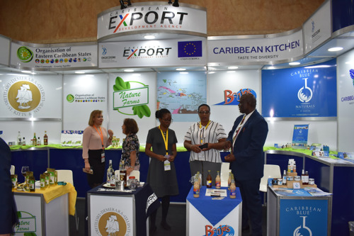 OECS Agro Processors Complete Successful Showing at International Trade Show
