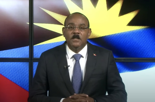 Prime Minister of Antigua and Barbuda, Hon. Gaston Browne, addresses the general debate of the 75th Session of the General Assembly of the UN