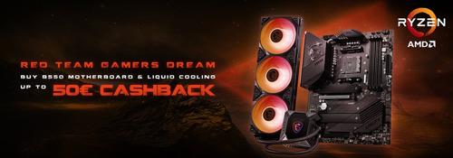 MSI B550 Cashback Combo Deals 2021: Red Team, Gamer's Dream