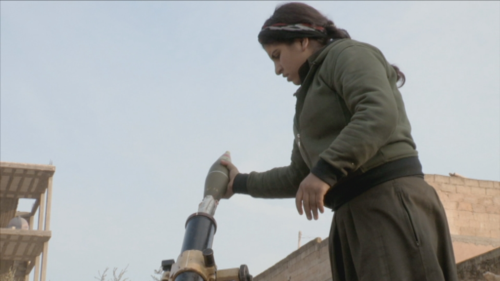Vranckx - De bevrijding van Kobani - (c) Channel 4