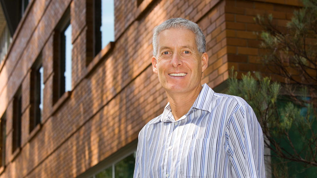 Professor Andrew Blakers. Image: Stuart Hay, ANU.