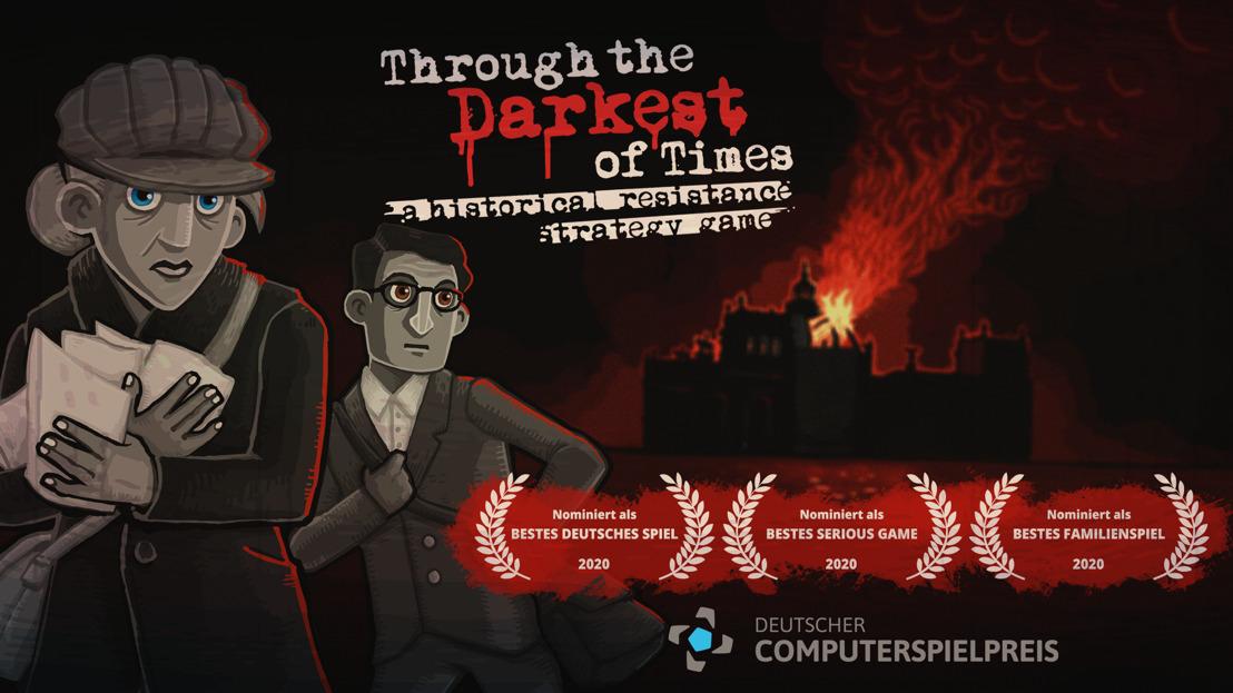 DREI Nominierungen beim Deutschen Computerspielpreis!